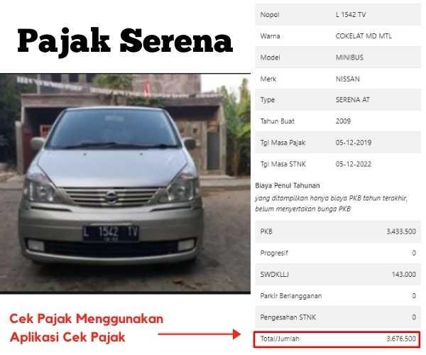 Dinas Pendapatan - Cek Pajak Kendaraan Mudah