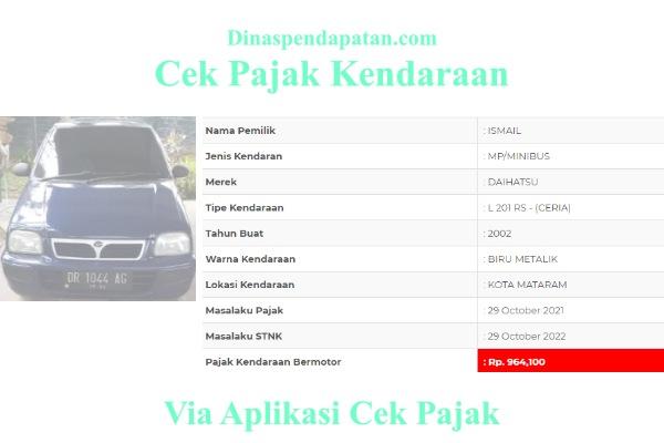 Cek-Pajak-Mataram